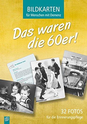 9783834629586: Bildkarten für Menschen mit Demenz: Das waren die 60er!: 32 Fotos für die Erinnerungspflege