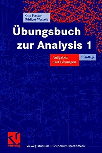 9783834800893: Ãœbungsbuch zur Analysis 1. Aufgaben und Lösungen