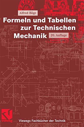 9783834801302: Formeln und Tabellen zur Technischen Mechanik (German Edition)