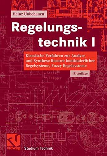 9783834802309: Regelungstechnik I (German Edition)