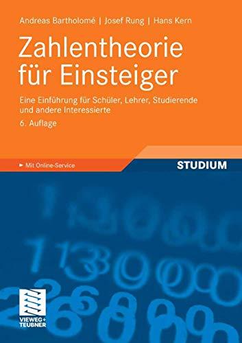 9783834804402: Zahlentheorie für Einsteiger: Eine Einführung für Schüler, Lehrer, Studierende und andere Interessierte