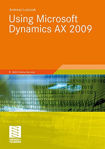 9783834804822: Using Microsoft Dynamics AX 2009