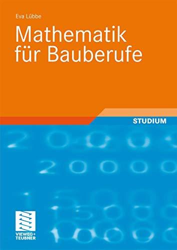 9783834805836: Mathematik Fã R Bauberufe