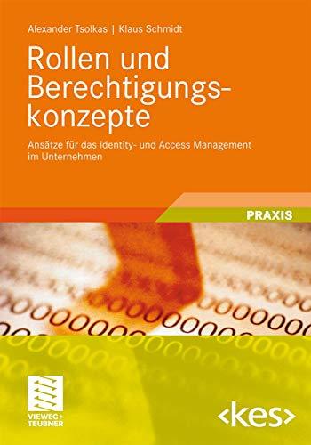 9783834812438: Rollen und Berechtigungskonzepte: Ansätze für das Identity- und Access Management im Unternehmen (Edition )