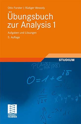 9783834812520: Übungsbuch zur Analysis 1: Aufgaben und Lösungen