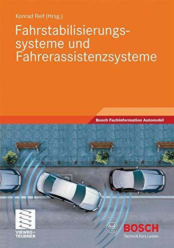 9783834813145: Fahrstabilisierungssysteme und Fahrerassistenzsysteme (Bosch Fachinformation Automobil)