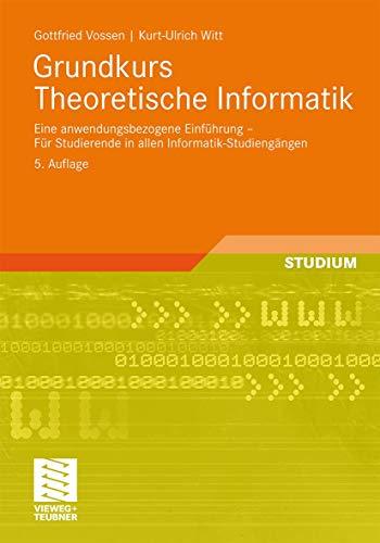 9783834815378: Grundkurs Theoretische Informatik