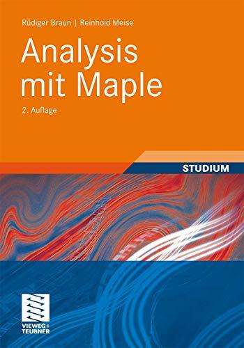 9783834815736: Analysis mit Maple (German Edition)