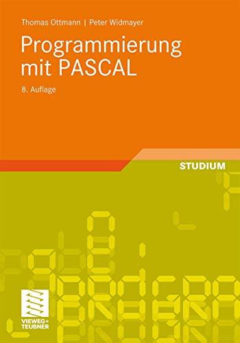 9783834817594: Programmierung Mit Pascal