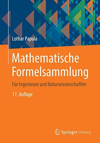 9783834819130: Mathematische Formelsammlung: Für Ingenieure und Naturwissenschaftler (German Edition)