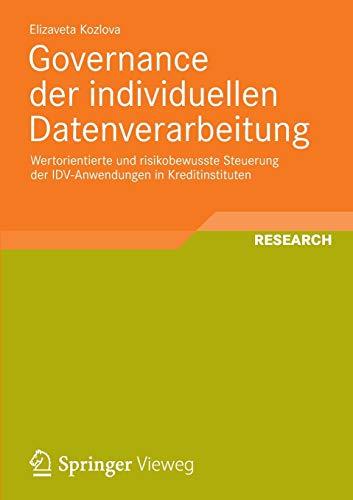 Governance der individuellen Datenverarbeitung: Elizaveta Kozlova