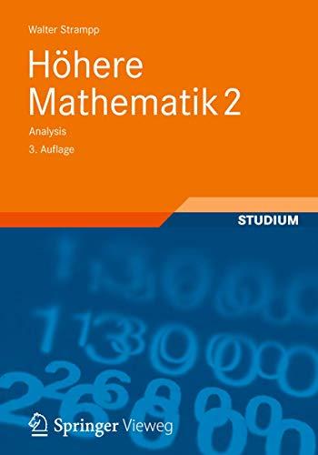 9783834825407: Höhere Mathematik 2: Analysis