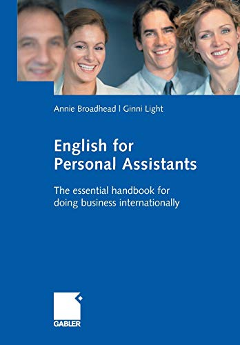 9783834901309: English for Personal Assistants