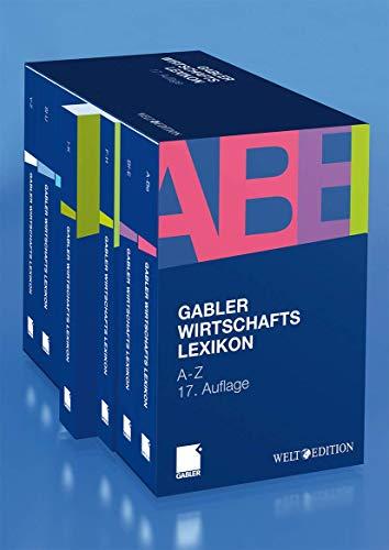 9783834901521: Gabler Wirtschaftslexikon: Die ganze Welt der Wirtschaft: Betriebswirtschaft, Volkswirtschaft, Wirtschaftsrecht, Recht und Steuern (German Edition)