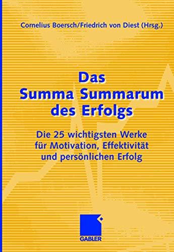 Das Summa Summarum des Erfolgs: Cornelius Boersch