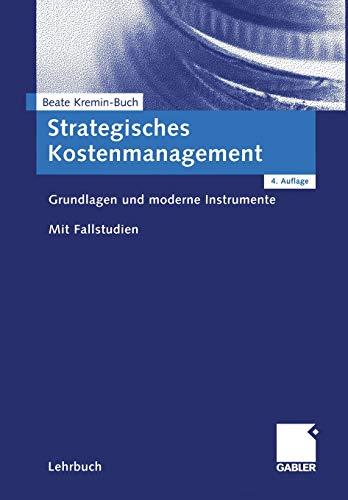 9783834903297: Strategisches Kostenmanagement