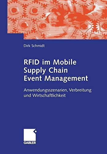 9783834903433: RFID im Mobile Supply Chain Event Management: Anwendungsszenarien, Verbreitung und Wirtschaftlichkeit