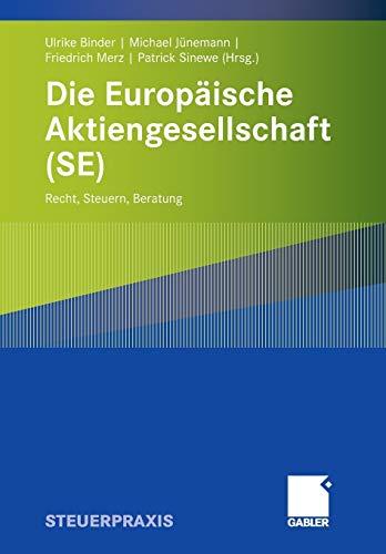 Die Europäische Aktiengesellschaft (SE): Ulrike Binder