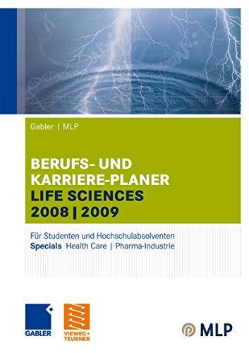 9783834907714: Gabler / MLP Berufs- und Karriere-Planer Life Sciences 2008/2009