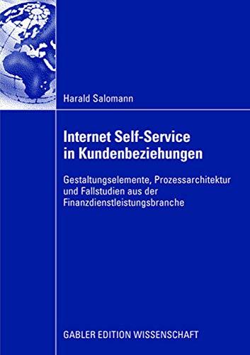 Internet Self-Service in Kundenbeziehungen: Harald Salomann