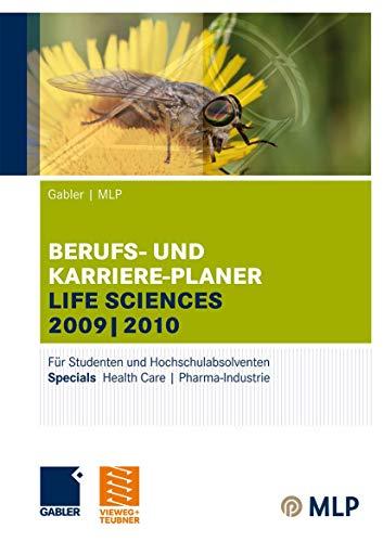 9783834908650: Gabler | MLP Berufs- und Karriere-Planer Life Sciences 2009 | 2010: Für Studenten und Hochschulabsolventen (MLP Karriereplaner Life Science)