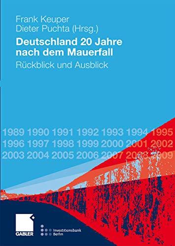9783834915276: Deutschland 20 Jahre nach dem Mauerfall: Rückblick und Ausblick (German Edition)