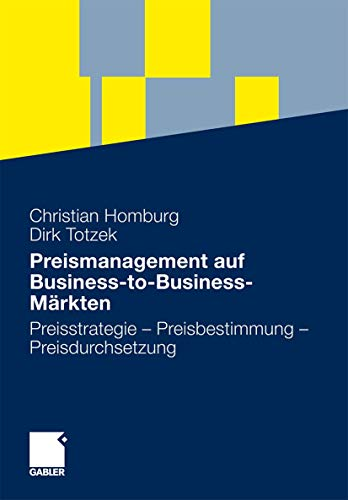 Preismanagement auf Business-to-Business-Märkten: Daniel Antolin (contributions),