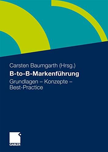 B-to-B-Markenführung: Grundlagen - Konzepte - Best Practice: Marco Schmidt (Autor),