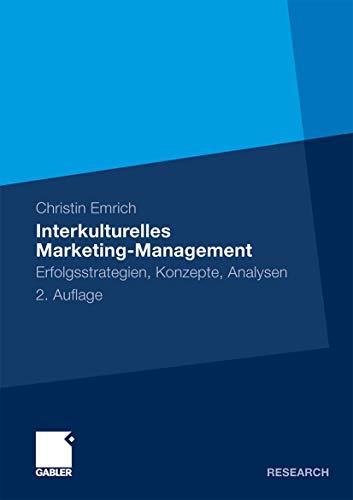 9783834917942: Interkulturelles Marketing-Management: Erfolgsstrategien, Konzepte, Analysen