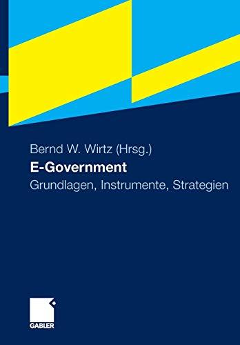9783834918765: E-Government: Grundlagen, Instrumente, Strategien (German Edition)