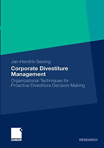 Corporate Divestiture Management: Jan-Hendrik Sewing