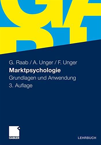 9783834921581: Marktpsychologie: Grundlagen und Anwendung (German Edition)