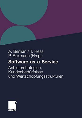 Software-as-a-Service: Alexander Benlian