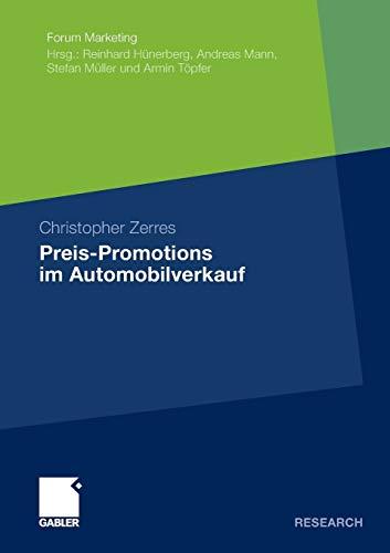 Preis-Promotions Im Automobilverkauf: Christopher Zerres