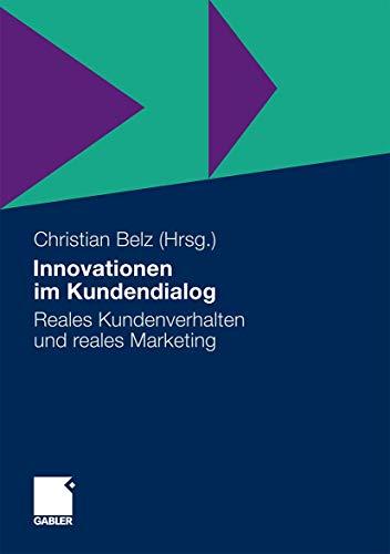 Innovationen im Kundendialog: Christian Belz (editor),