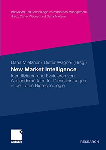 New Market Intelligence: Dieter Wagner