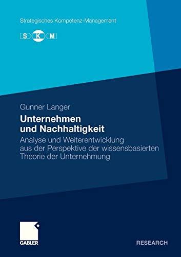 Unternehmen und Nachhaltigkeit: Gunner Langer