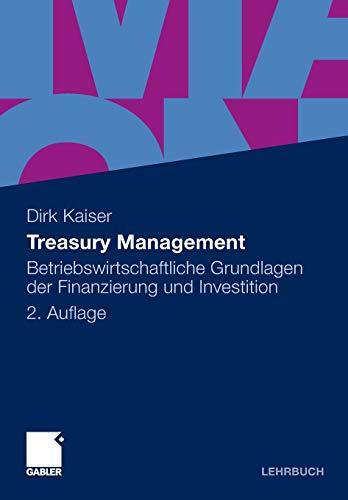 9783834926746: Treasury Management
