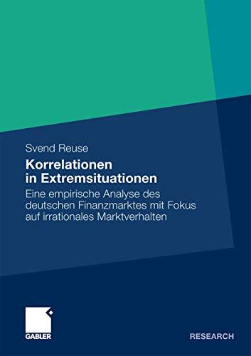 Korrelationen in Extremsituationen - Reuse, Svend