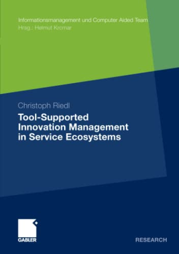 9783834930248: Tool-Supported Innovation Management in Service Ecosystems (Informationsmanagement und Computer Aided Team)