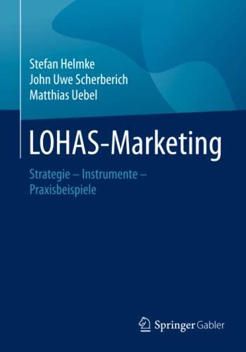 9783834930422: LOHAS-Marketing