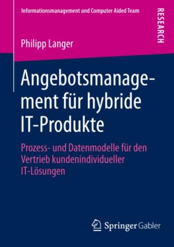 Angebotsmanagement für hybride IT-Produkte: Philipp Langer