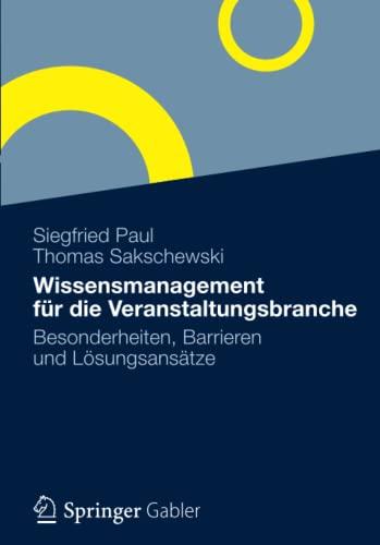 Wissensmanagement für die Veranstaltungsbranche: Siegfried Paul