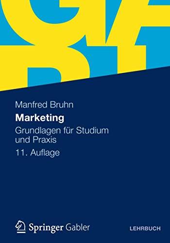 9783834934390: Marketing: Grundlagen für Studium und Praxis