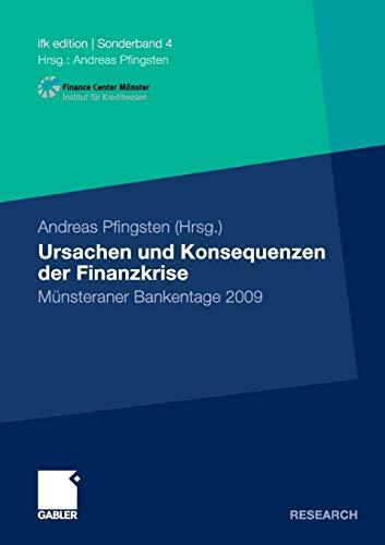 Ursachen und Konsequenzen der Finanzkrise: Andreas Pfingsten