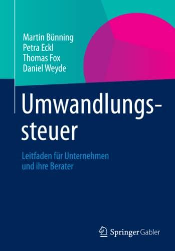 9783834935908: Umwandlungssteuer: Leitfaden für Unternehmen und ihre Berater (German Edition)