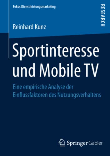 Sportinteresse und Mobile TV: Reinhard Kunz
