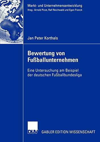 Bewertung von Fuballunternehmen: Jan Peter Korthals