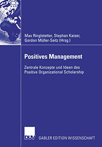 9783835002760: Positives Management (German Edition)