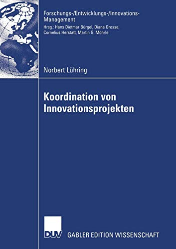 Koordination von Innovationsprojekten: Norbert Lühring